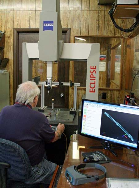 Inspection of an injection mold
