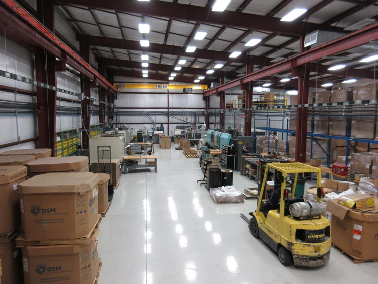 Plastic Injection Molding Facility in McMinnville Tennessee