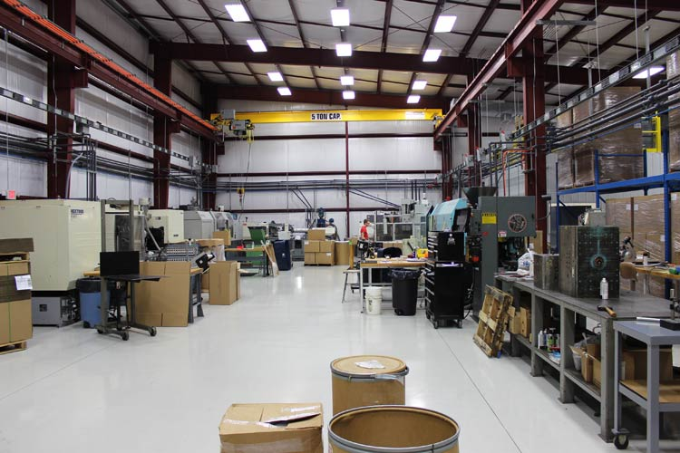 Plastic Injection Molding Facility in Middle Tennessee
